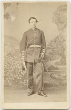 Carte de visite of D.D. Daly