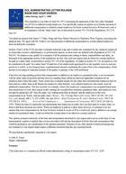 Letter Ruling: April 1, 1999