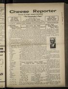 Cheese Reporter, Vol. 54, no. 13, Saturday, December 7, 1929