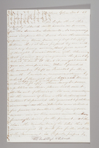 Letter from Sarah Pugh to Richard D. Webb, November 6, 1853