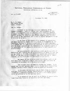 Letter from C. Yun to J. L. Savage, September 27, 1945