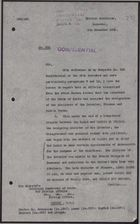 Letter from E. C. Hole to Foreign Office re: Changes in Syrian Cabinet, December 6, 1926