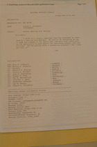 Memo from Donald K. Steinberg re: Rwanda: Meeting with Monique, April 20, 1994