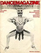 Dance Magazine, Vol. 50, no. 7, July, 1976