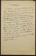 Writings and Treaties of Salomon Brann, Written in German and German with Hebrew Letters, February 2, 1894