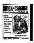 American Expatriate in Canada, Amex-Canada, Vol. 3 no. 4, Whole Number 29, May-June 1972