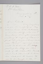 Letter from Sarah Pugh to Richard D. Webb, February 6, 1869