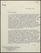 Letter from S. P. Vivian to Sir Henry L. French re: Instructions for the National Register, March 23, 1939
