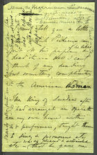 Hymn of Thanksgiving by Anonymous Writer Sent to Caroline Howard Gilman