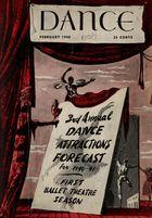 Dance (Magazine), Vol. 7, no. 3, February, 1940, Dance, Vol. 7, no. 3, February, 1940