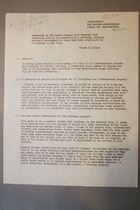 Memorandum to the Carrie Chapman Catt Memorial Fund Concerning some of the Possiblities, Problems, Persons, Materials Encountered in South East Asia Which Might Be of Interest to the Fund, 5 October 1952