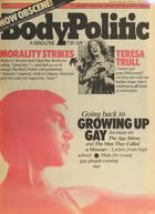 The Body Politic no. 84, June 1982