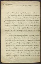 Letter from Philipp Bloch to Markus Brann, November 13, 1896