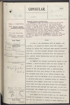 Correspondence re: Baghdad Relief Expenditure, February 18-March 15, 1926