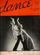 Dance (Magazine), Vol. 2, no. 5, August, 1937, Dance, Vol. 2, no. 5, August, 1937
