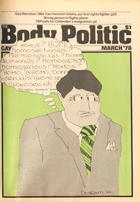 The Body Politic no. 41, March 1978