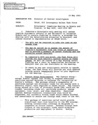 Balkan Task Force Memorandum re: Principals' Committee Meeting on Bosnia and Croatia, May 16, 1995