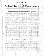 Bulletin, vol. 2 no. 2, July 1928