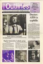 Chicago Outlines The Voice of the Gay and Lesbian Community Vol. 1 No.24 November 12, 1987