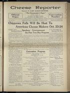 Cheese Reporter, Vol. 54, no. 6, Saturday, October 19, 1929