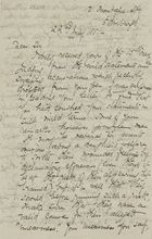 Letter from Alick Gray to Robert Logan Jack, July 22, 1881 (copy by Ellie Love Macpherson)
