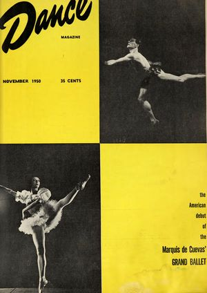 Dance Magazine, Vol. 24, no. 11, November, 1950