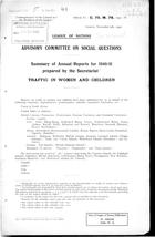 Summary of Annual Reports for 1940-41