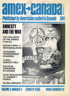 American Expatriate in Canada, Volume 3, Issue 3, Amex-Canada, Vol. 3 no. 3, Whole Number 28, March-April 1972