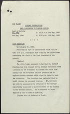 Cabinet Distribution From Washington to Foreign Office, May 8, 1946