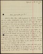 Letter from Heinrich Laible to Markus Brann, June 4, 1920