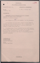 Confidential Memo from Foreign Office to Havana re: Cay Sal Prisoners, January 1965