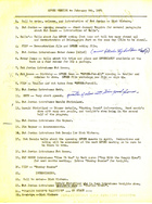 Agenda for SPREE Meeting, February 9, 1971