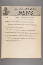 Statement by S.J.S.C. President Robert D. Clark, September 22, 1967