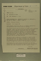 Telegram from Francis T. P. Plimpton in New York to Secretary of State, September 4, 1963