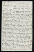 Letter from Samuel Pratt Winter to Arbella Winter Cooke, November 3, 1868