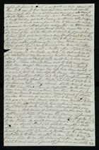 Incomplete letter from Samuel Pratt Winter, undated