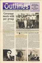 Chicago Outlines The Voice of the Gay and Lesbian Community Vol. 1 No. 15 September 10, 1987
