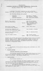Draft Constitution: Peace and Disarmament Committee of the Women's International Organisations, July 29th, 1936