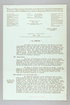 Annual Report of the Peace and Disarmament Committee of the Women's International Organizations, 1936-1937