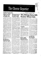 The Cheese Reporter, Vol. 87, No. 12, Friday, November 15, 1963