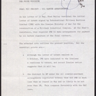 Briefing Notes from E. G. V. to Prime Minister re: Iran -- MIC Project: Oil Barter Arrangements, October 16, 1978