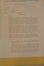 Memo from Donald K. Steinberg re: Rwanda TP's for President, Rwanda/Burundi, april 26, 1994