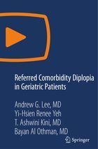 Referred Comorbidity Diplopia in Geriatric Patients