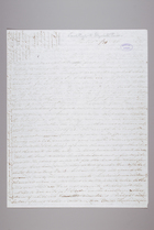Letter from Sarah Pugh to Elizabeth Pease, January 20, 1846