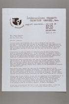 Letter from Mildred Persinger to Mrs. Samuel Newhouse, August 18, 1978