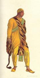 Costume design for a Venetian pirate in 'The Legend of Joseph', 1914 (w/c & gouache on paper)