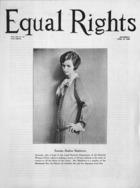 Equal Rights, Vol. 12, no. 10, April 18, 1925