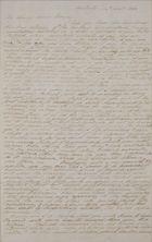 Copy of Letter from William Leslie to George Leslie, September 14, 1838