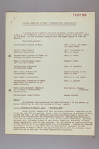 Notes of Meeting, 14 October 1939
