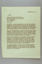 Letter from Mary van Kleeck to N. de Barry, November 20, 1945